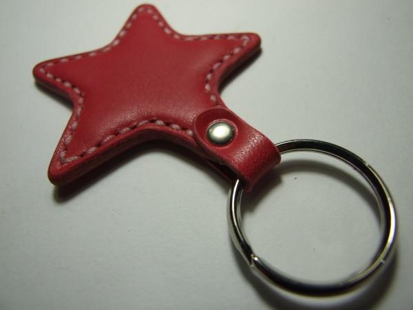 星のキーホルダー ピンク-2