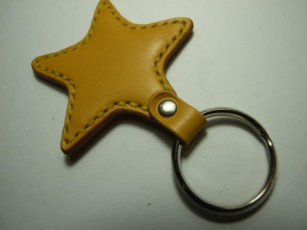 星のキーホルダー 黄色-2