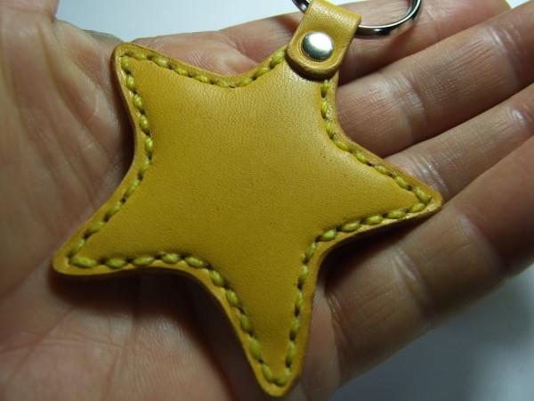星のキーホルダー 黄色