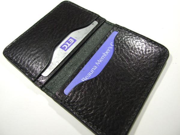 スタイリッシュなカードケース 黒-2