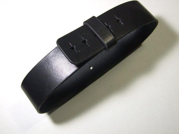 エルメス バレニア用ベルト 黒-1